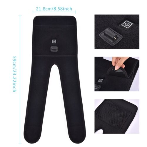 Best Knee Massager Pad with Heat for Pain Relief 3