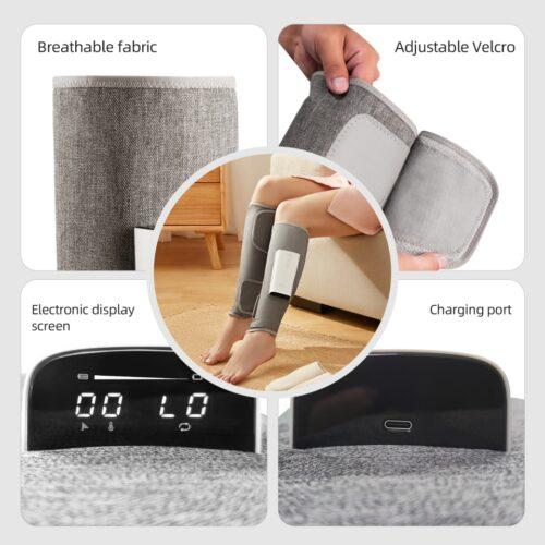 Air Compression Leg and Calf Massager 2